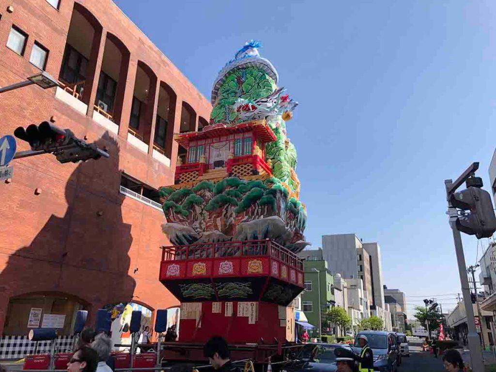 酒田祭の山車