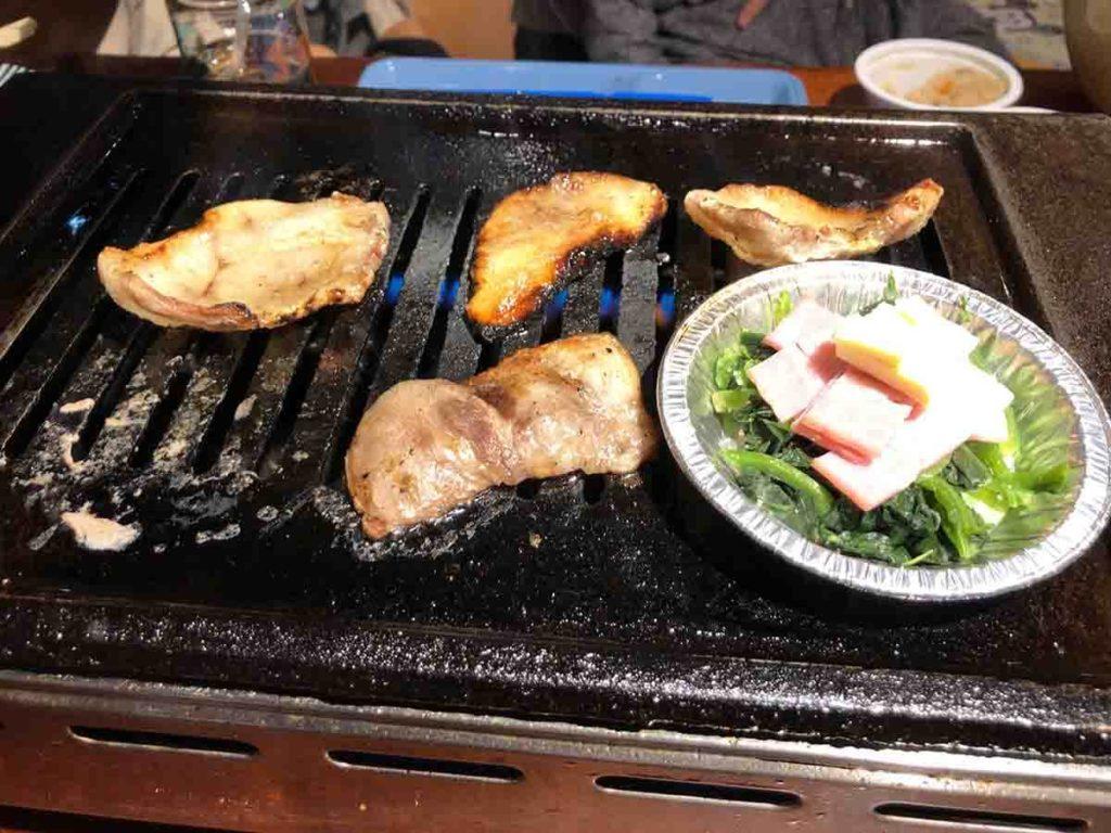 さかた飯店の豚肉